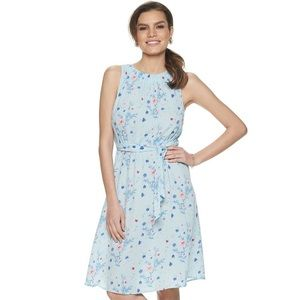 Juicy Couture | Baby Blue Floral Dress